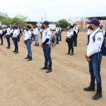 A distancia, las clases en la Unidad de Profesionalización Policial