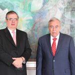 Rocha y Ebrard abren agenda de la SRE a favor de productores sinaloenses