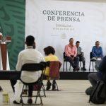 Se compromete AMLO a equipamiento los 3 nuevos hospitales de Culiacán