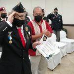 PARACAIDISTAS RINDEN HOMENAJE AL PROFESOR HUMBERTO GAMBOA, HEROE DE GUERRA MAZATLECO